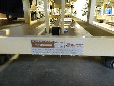 Triton Tre-24 Patient Power Elevation Manipulation Hi-lo Table Wfoot Switch