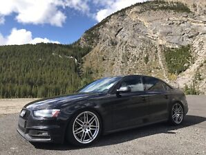 2014 Audi S4 6-speed manual Quattro Supercharged