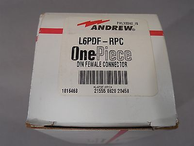 Andrew L6pdf-rpc 716 Din Female Onepiece Connector For 1-14 Ldf6-50 Cable New