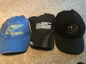 WRC Subaru World Rally Hats