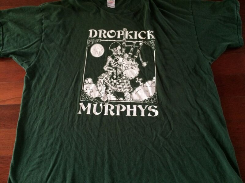 Vintage Dropkick Murphys So Lonely Round Fields of Athenry Shirt  Adult 3XL