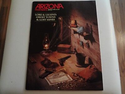 Arizona Highways, March 1985, Lore & Legend: Ghost Towns & Lost Mines