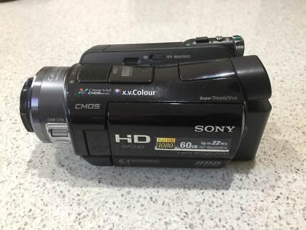 Sony HDR SR7E Hard Disk Movie Camera