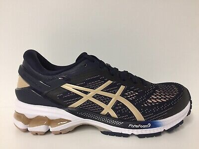 Asics Gel-Kayano 26 (Women's) Running. Midnight/Frosted Almond