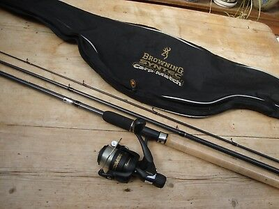 Browning Syntec Carp rod and reel Combi set