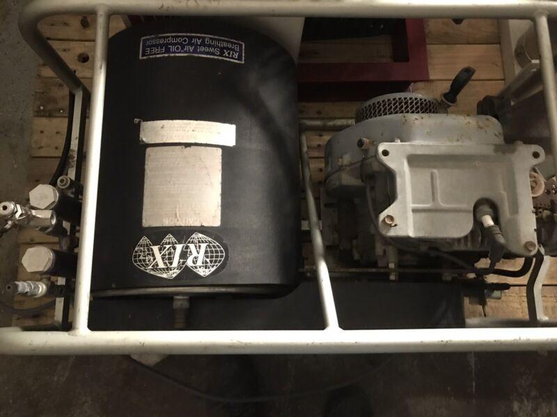 Rix Sweet Air Oil Free Breathing Air Compressor 6cfm 5500psi