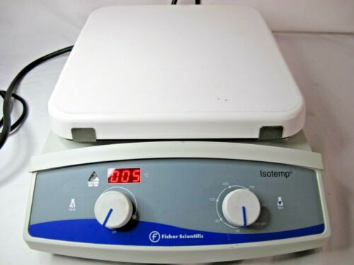 "Fisher Scientific Isotemp Hot Plate Magnetic Stirrer 10""x10"" 11-100-100SH 120V"