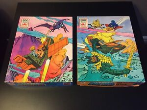 Vintage 1985 He Man Masters of the Universe Jigsaw Puzzles