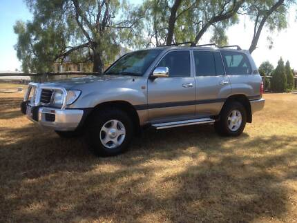 2002 Toyota LandCruiser Turbo Diesel Auto GXL North Toowoomba Toowoomba City Preview
