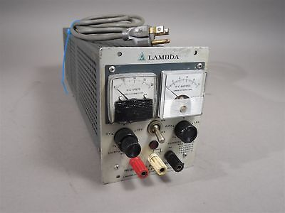 Lambda Lh 121 Fm Regulated Power Supply 0-20vdc 2.4a - Used