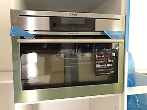 Brand New AEG Compact Oven 45cm Compact 19 multi-function oven Green Point Gosford Area Preview