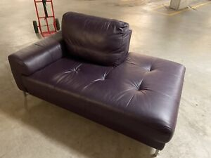 Nick Scali Italian Genuine Leather relaxing coach sofa, near new