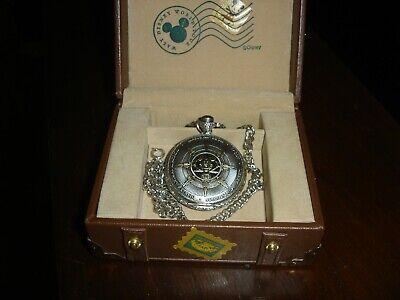 RARE New Walt Disney World Tour 2000 pocket watch w/suitcase box