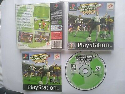 International Superstar Soccer Pro. Sony ISS Pro for PS1