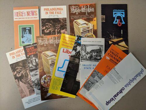 Lot of 1976 USA Bicentennial Celebration Philadelphia Pennsylvania Brochures