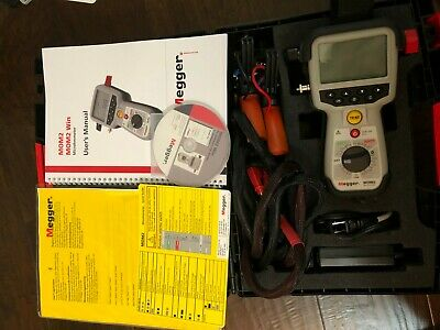 Megger Bd-59070 Mom2 Microohmmeter With Kelvin Probes