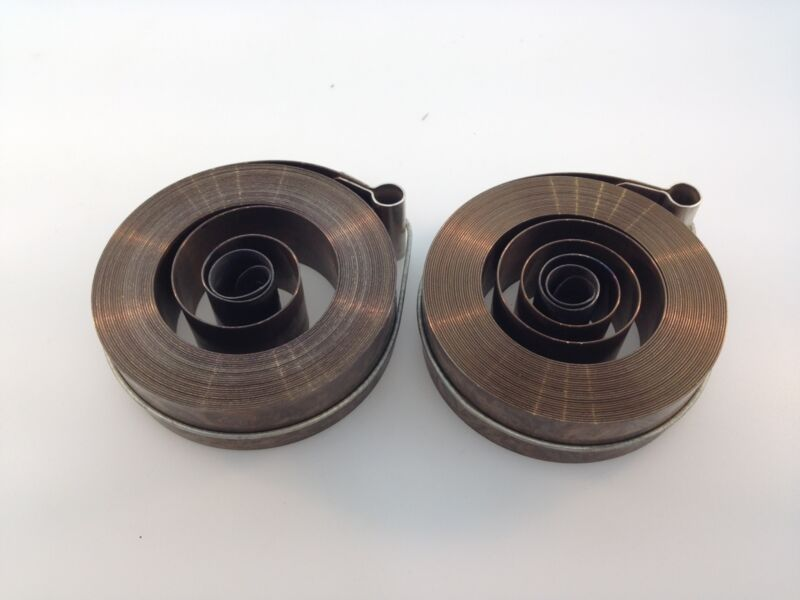 Clock Mainspring Pair (2) for the 31 Day Movement