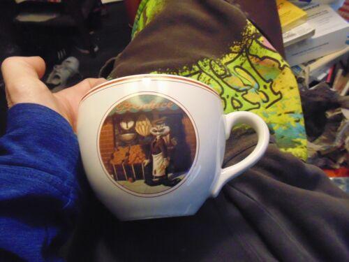 Bugs Bunny Looney Tunes Delancy Street Large Coffee Mug! Warner Bros. 1994