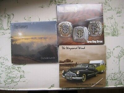 TIM FLANNERY 3CD'S The Wayward Wind/Outside Lands/Three Ring Circus (Tim Flannery Cd)