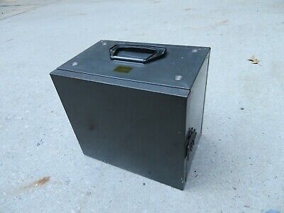 Vintage Akro Mills 13 Drawer Locking Metal Door Cabinet Hobby Organizer