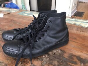 Men's size 9 converse sneakers for sale! (Worn once)