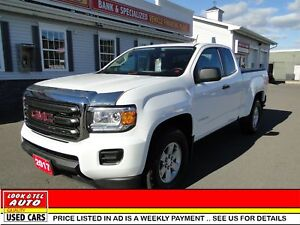 2017 GMC Canyon you're approved  $108.12 a week tax inc. 4WD
