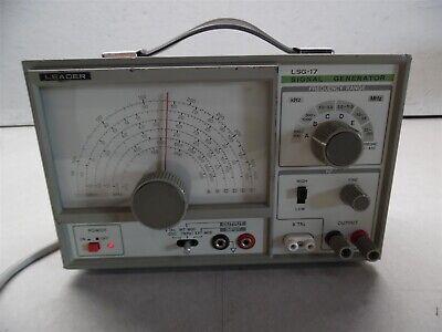 Leader Lsg-17 Signal Generator