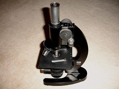 Vintage Beck Kassel Cbs 74300 Microscope - Made In Germany