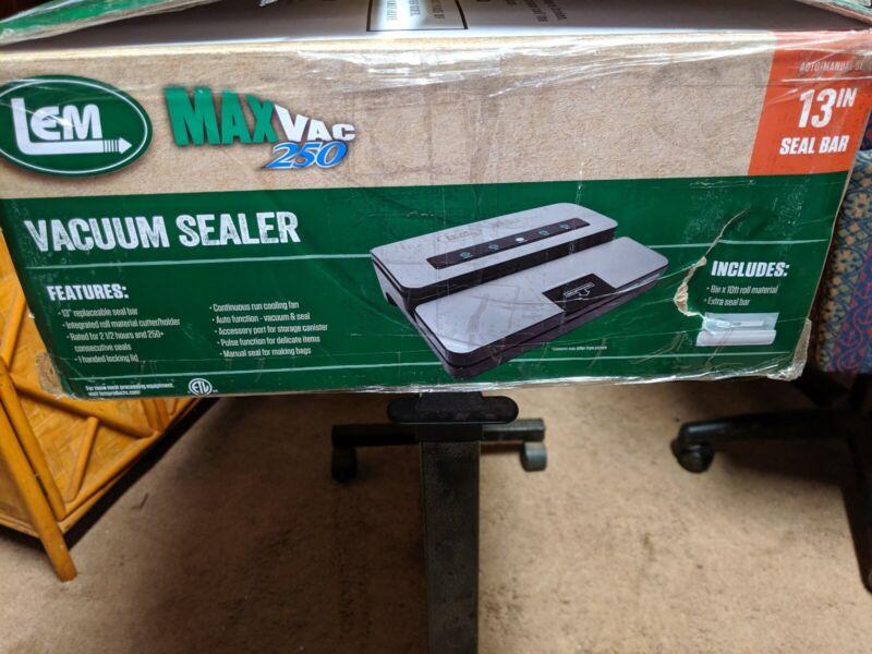 LEM Max Vac 250 13 In Vacuum Sealer