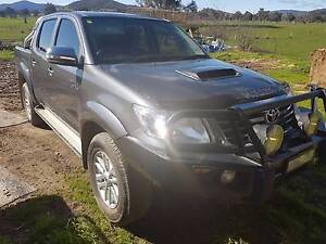 2012 Toyota HiLux D/Cab 4x4 SR5 Corryong Towong Area Preview