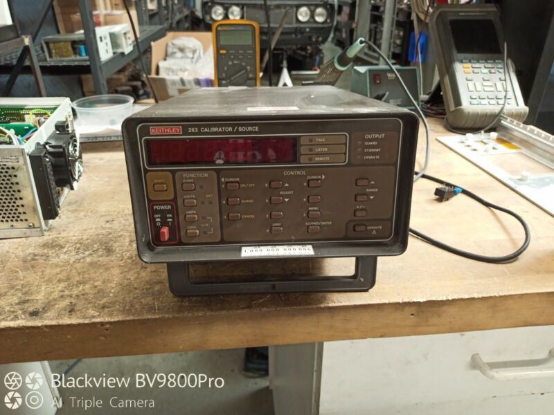 Keithley 263 calibrator current source