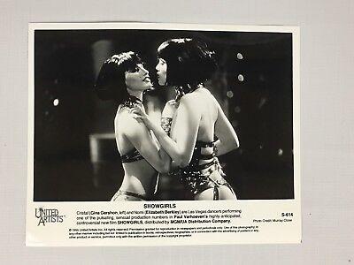 1995 Hollywood Press Release Photo SHOWGIRLS - Elizabeth Berkley Gina Gershon