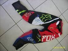 Used Child Fox Motorcross Pants & Jersey Sz 8 Kids Motor Cross Cranebrook Penrith Area Preview