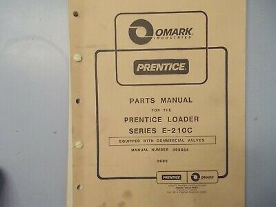 Prentice Hydro Ax Series E 210c Parts Manual