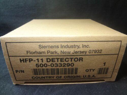 BRAND NEW SIEMENS HFP-11 INTELLIGENT DETECTOR P/N:500-033290 FREE SHIPPING !!!