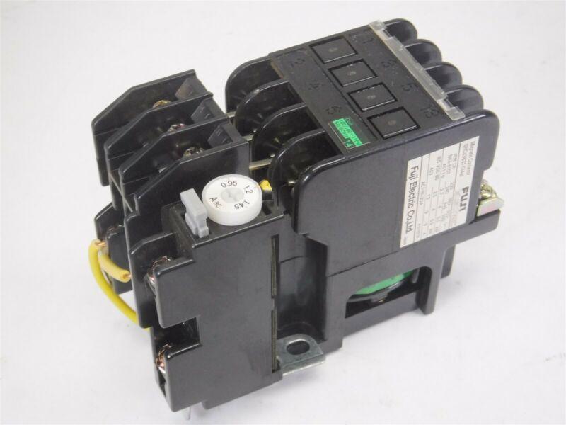 New No Box Fuji Electric SRCa3631-0(4a) Magnetic Contactor S9-1