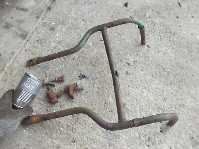 Oliver Super 77 Diesel Tractor Original Seat Assembly Mounting Frame Clamps