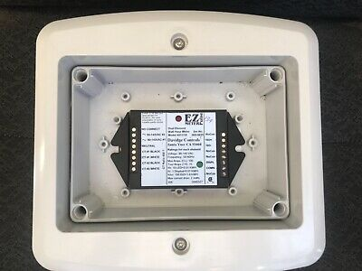 Electric dual element watt hour meter ez pulse Davidage 4011/18 w/enclosure
