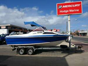 19ft Nesscraft Magnum - 135HP Mercury Outboard Findon Charles Sturt Area Preview