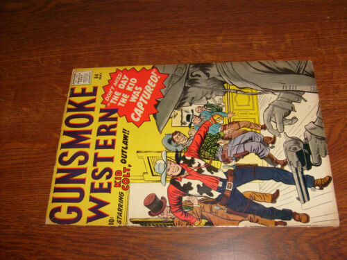 GUNSMOKE WESTERN #64, G/VG, kid colt