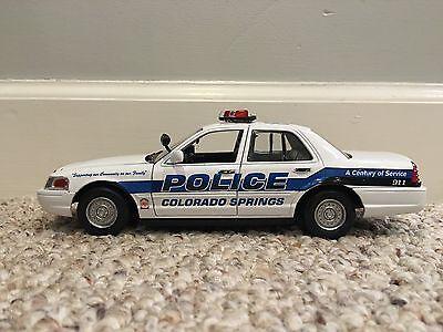 Colorado Springs CO Police Department diecast car Motormax 1:24 scale (Car Toys Colorado Springs)