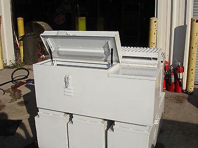 36 Custom Steel Job Truck Tool Storage Box Wstep 36l X 12w X 13d