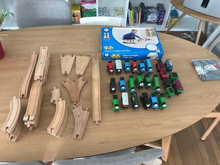 Thomas tank engine & friends Wooden Train Set with extras