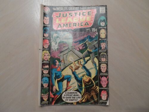 DC JUSTICE LEAGUE OF AMERICA #83  SEPTEMBER 1970