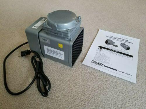 GAST, Compressor/Vacuum Pump DOA-P707-AA , 1/8 HP, Oiless Diaphram