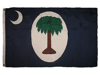3x5 South Carolina Palmetto 2 Days Civil War 1861 Premium Flag 3'x5' Banner