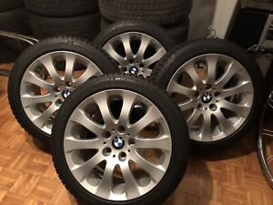 BMW mags original michelin 225-45-17 x/ice 875.00 prix fixe
