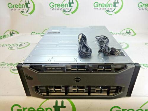 "Dell PS6100XV EqualLogic 24-Bay 3.5"" 4U iSCSI SAN Storage Array w/ 2x PSUs"