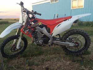 Parting out dirt bike