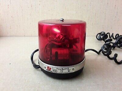 Federal Signal Fireball Ii Fb2 Warning Light Tested Works